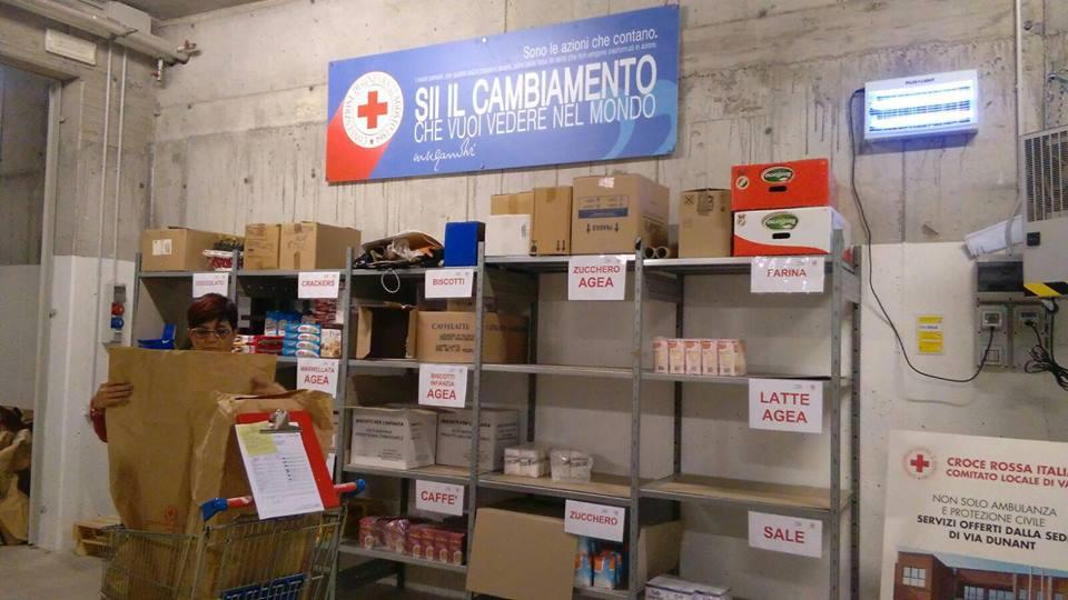CRI Varese impegnata quotidianamente nella lotta contro la povertà.