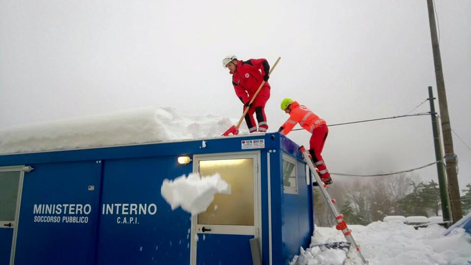 Anche CRI Varese in supporto alle popolazioni colpite dal sisma.