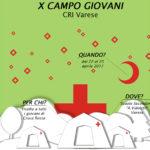 X Campo Giovani Croce Rossa Varese