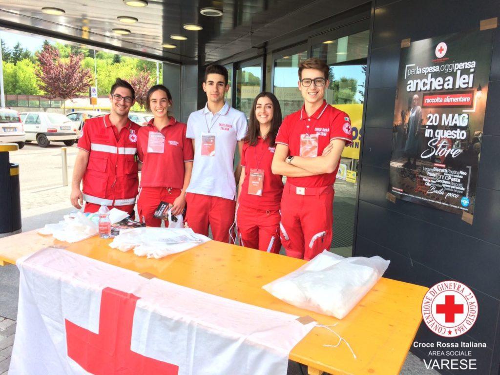L'unione fa la forza…per la raccolta alimenti della Croce Rossa Italiana