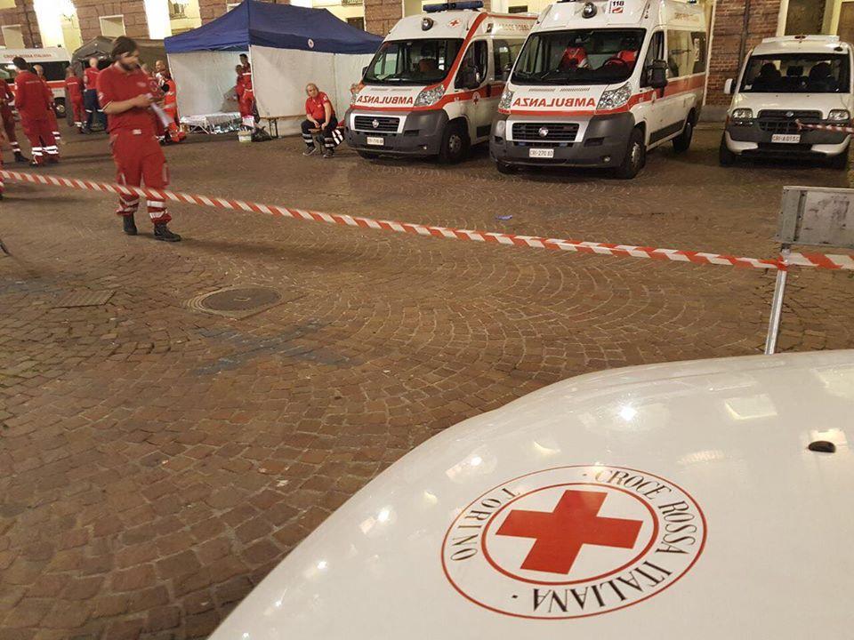 Grandi eventi: i consigli della Croce Rossa Italiana per evitare una nuova piazza San Carlo
