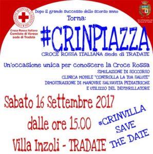 #CRINPIAZZA 2017 @ Villa Inzoli - Tradate | Tradate | Lombardia | Italia