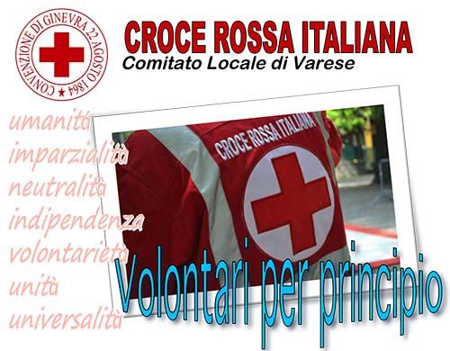 Corso Base per Volontari della Croce Rossa Italiana – Varese 5 Ottobre 2017