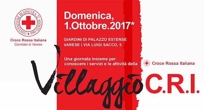 Villaggio CRI 2017 – Una giornata insieme per conoscere i servizi e le attività della Croce Rossa Italiana