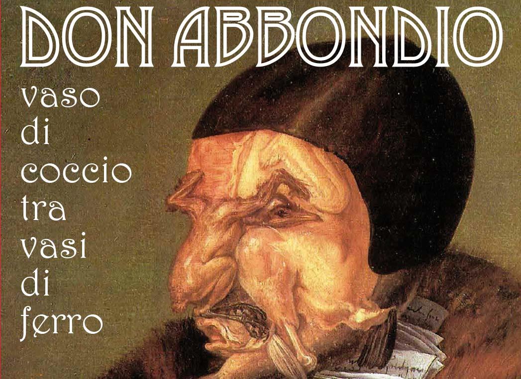 """""""iNTEATRO"""" pratrocinato da Croce Rossa Italiana Varese presenta """"Don Abbondio"""""""