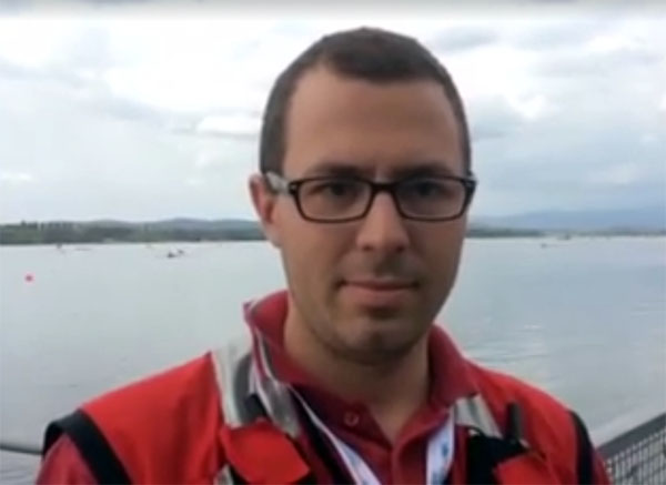 2016 World Rowing Cup Varese – Intervista a Alessandro Bianchi