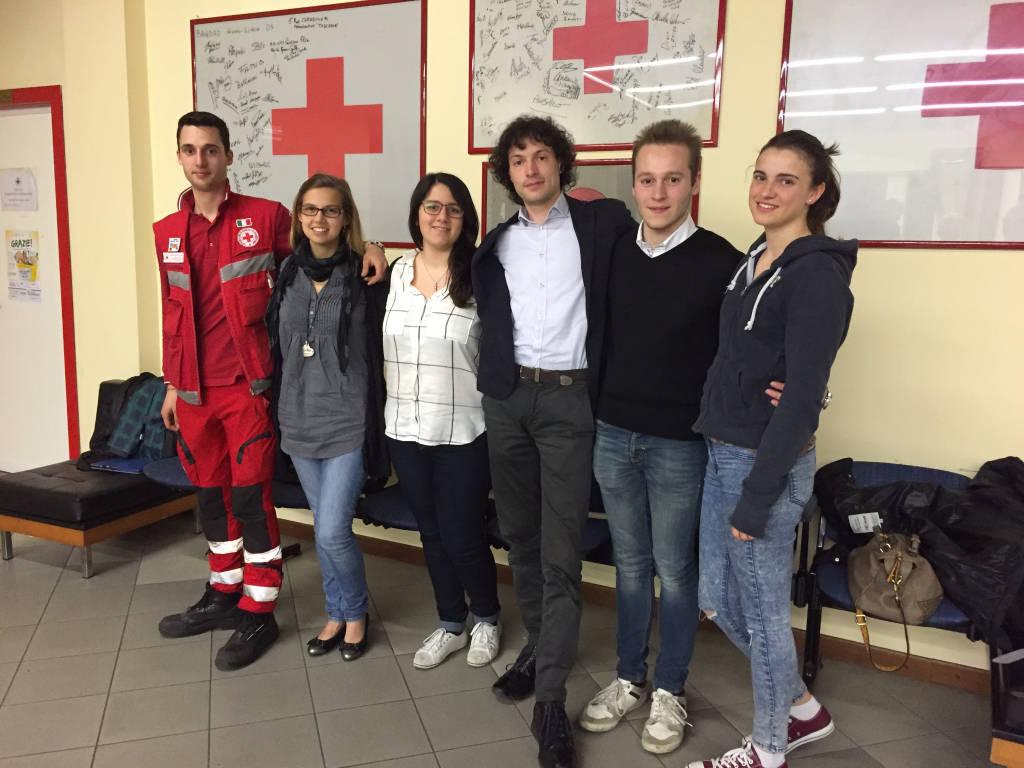 Duecento ragazzi determinati: i volontari della Croce Rossa