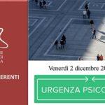 Urgenza Psicologica – Presentazione del progetto – Venerdì 2 Dicembre 2016