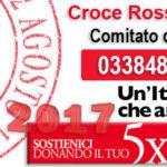Donare il 5x1000 a Croce Rossa Italiana Comitato di Varese è semplice