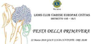 Festa della Primavera @ Golf Club Luvinate | Luvinate | Lombardia | Italia
