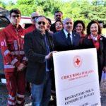 Nuovo Doblò donato alla Cri per il trasporto delle persone disabili