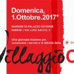 Villaggio CRI 2017 - Una giornata insieme per conoscere i servizi e le attività della Croce Rossa Italiana