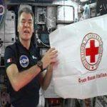 """Croce Rossa, il messaggio dell'astronauta Nespoli: """"Anche da quassù so che voi ci siete"""""""