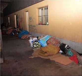 Rifugio per i senzatetto. Posti letto subito esauriti
