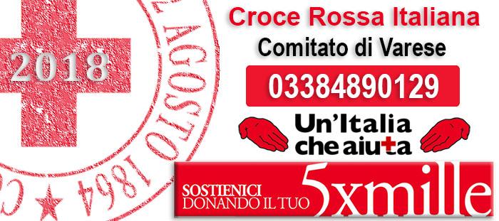 Dona il 5×1000 a Croce Rossa Italiana Comitato di Varese