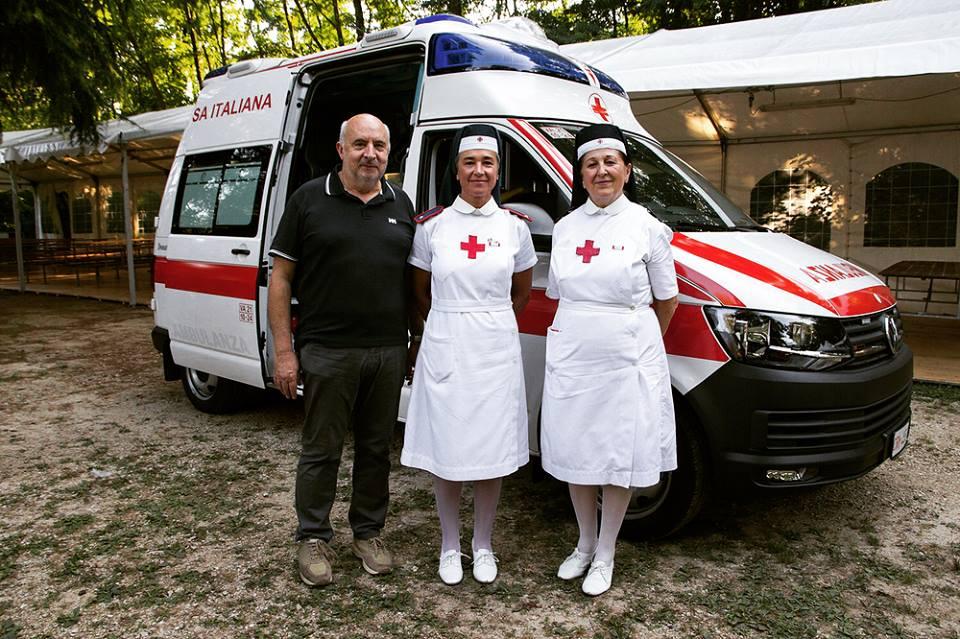 Inaugurazione nuova ambulanza