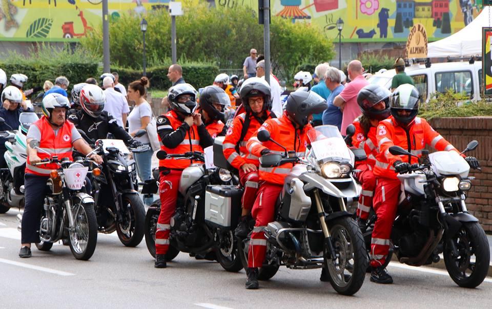 Motoraduno 2018 – Cri Varese presente