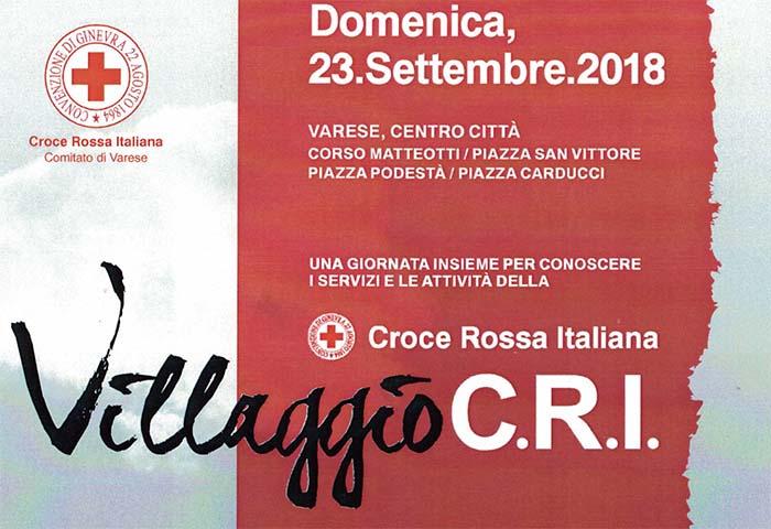 Torna il Villaggio Cri e trasforma il centro di Varese