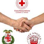 Cri Varese e City Angels protocollo d'intesa