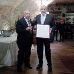 Prestigioso riconoscimento per il nostro consigliere Umberto Tonero