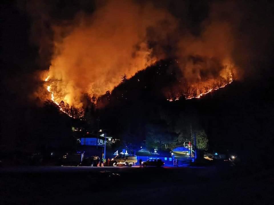 Varese – Emergenza Incendio Monte Martica Gennaio 2019