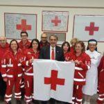 Francesco Rocca, presidente Nazionale CRI, in visita a Varese