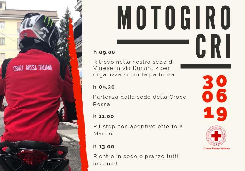 Motogiro CRI 2019 @ Sede CRi Varese | Varese | Lombardia | Italia