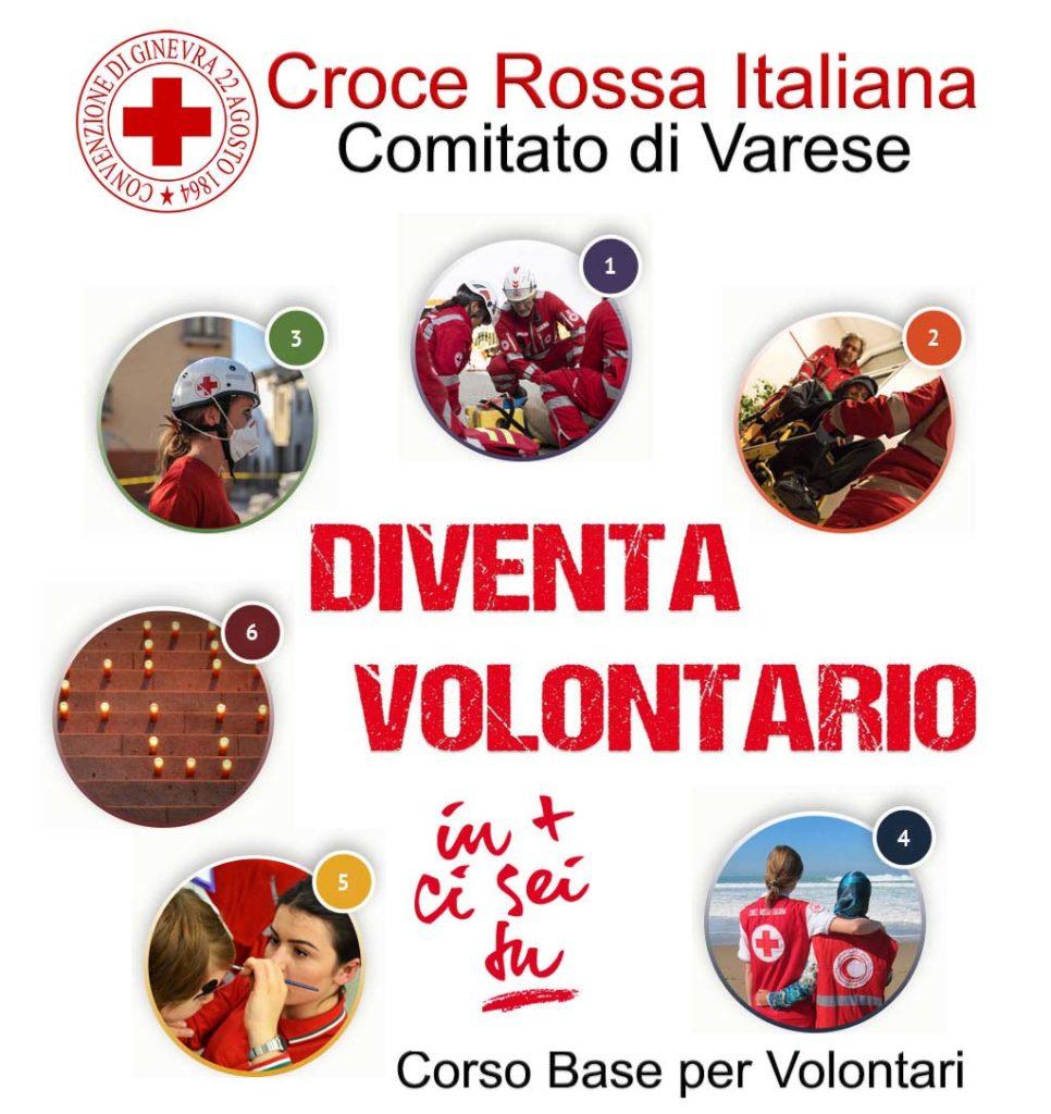 Diventa Volontario della Croce Rossa Italiana – Corso Base