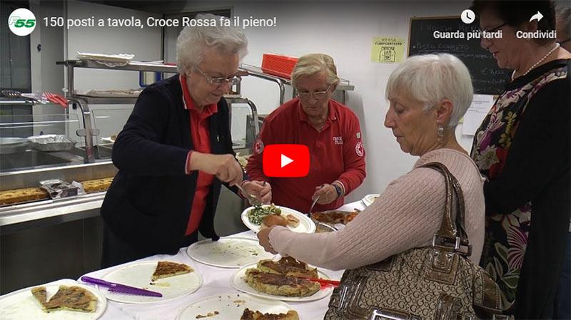 150 posti a tavola, Croce Rossa fa il pieno!