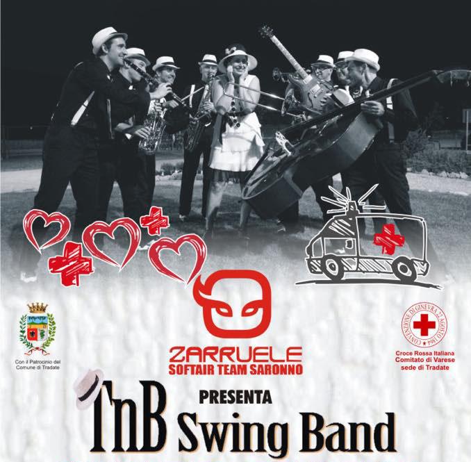 Concerto benefico con TnB Swing Band – 23 Novembre 2019