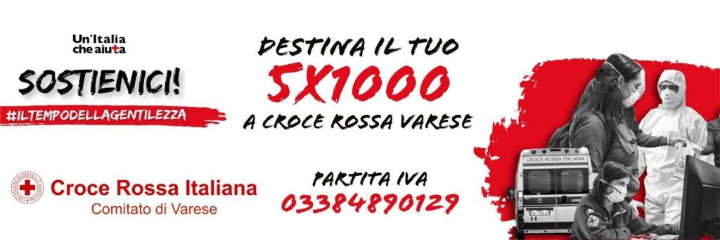 Il tuo 5×1000 a Croce Rossa Italiana Comitato di Varese