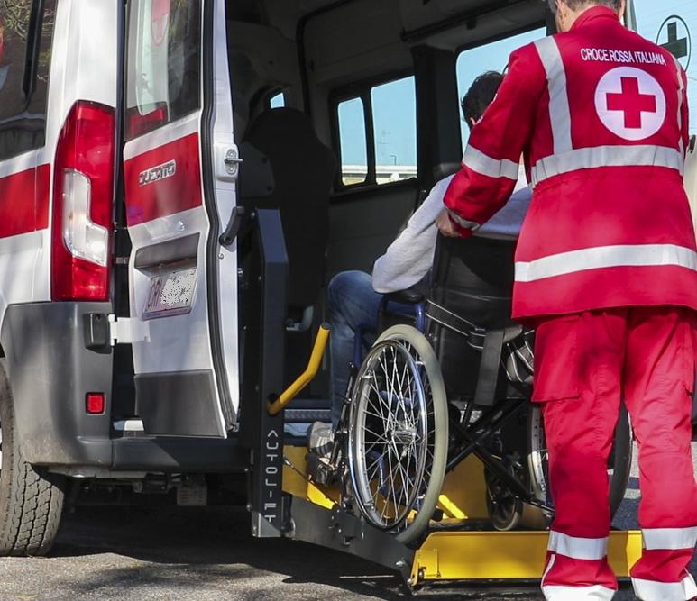 CRI Varese – Ripartiamo con i Trasporti Socio Sanitari