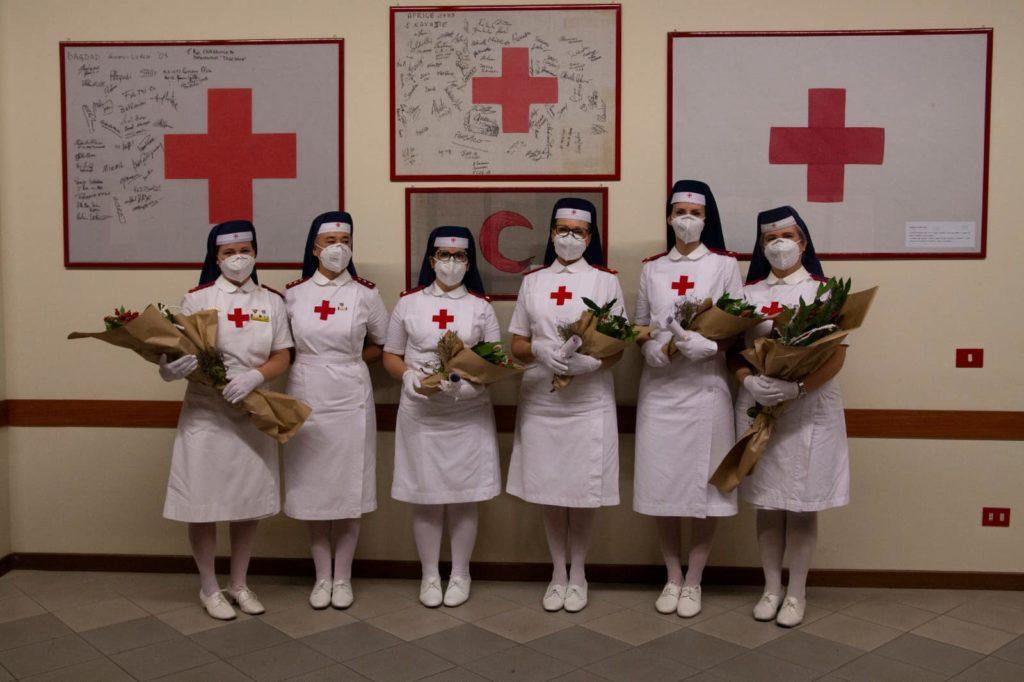 3 nuove Infermiere Volontarie per il Comitato CRI di Varese