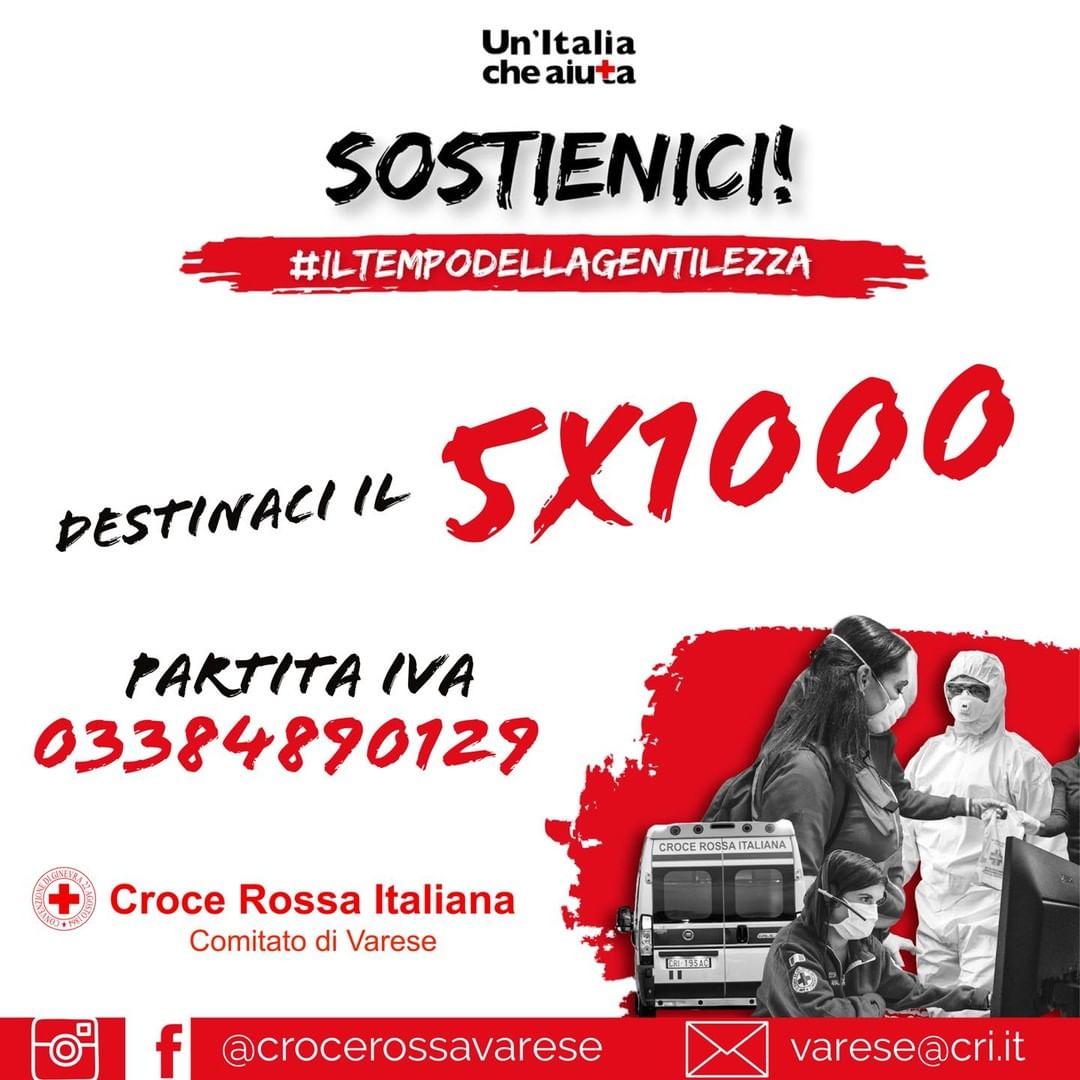 SOSTIENICI CON IL TUO 5X1000