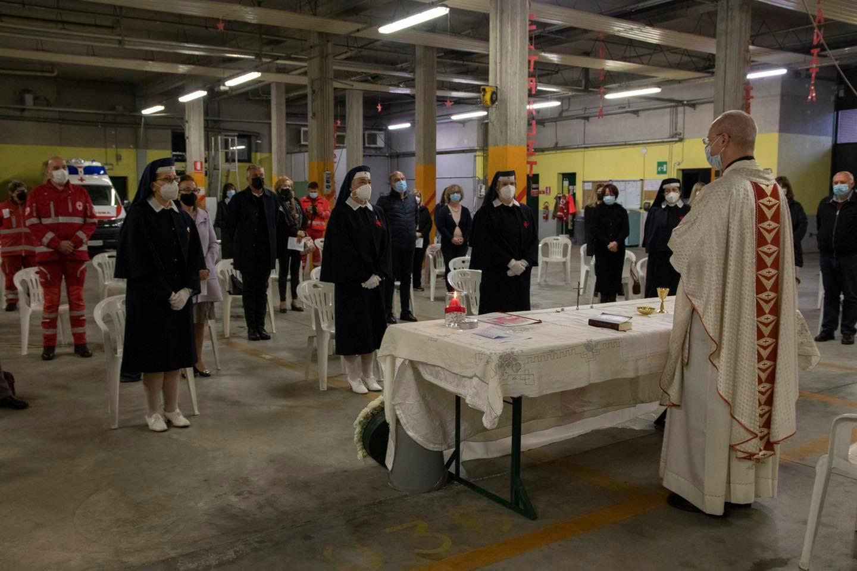 Il 29 aprile, le Crocerossine di Varese hanno ricordato la loro Patrona Santa Caterina da Siena