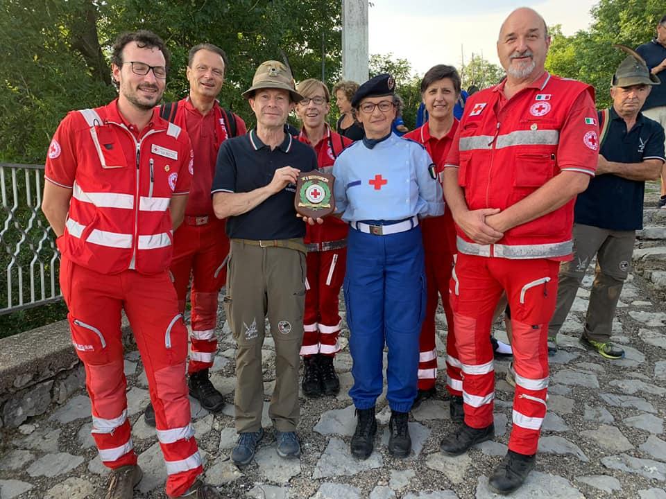 Ringraziamenti alla CRI di Varese dal Gruppo Alpini Varese