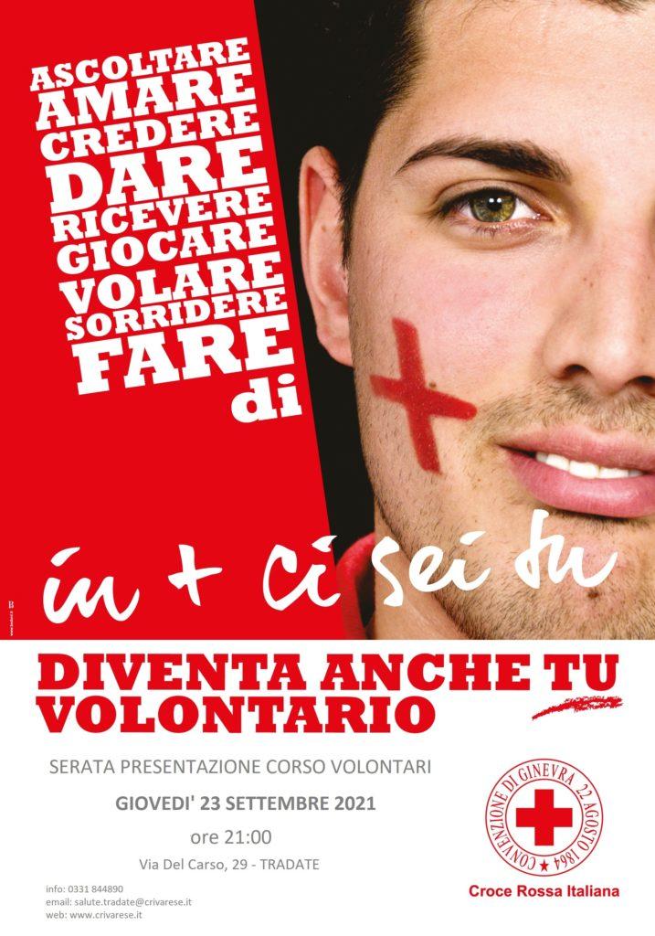 Corso Base per Volontari CRI – Sede di Tradate @ Sede CRI Tradate | Tradate | Lombardia | Italia