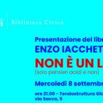 """Presentazione """"Non è un libro"""" di Enzo Iacchetti"""