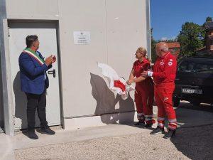 Inaugurazione struttura a Sarnano donata dalla CRI Varese