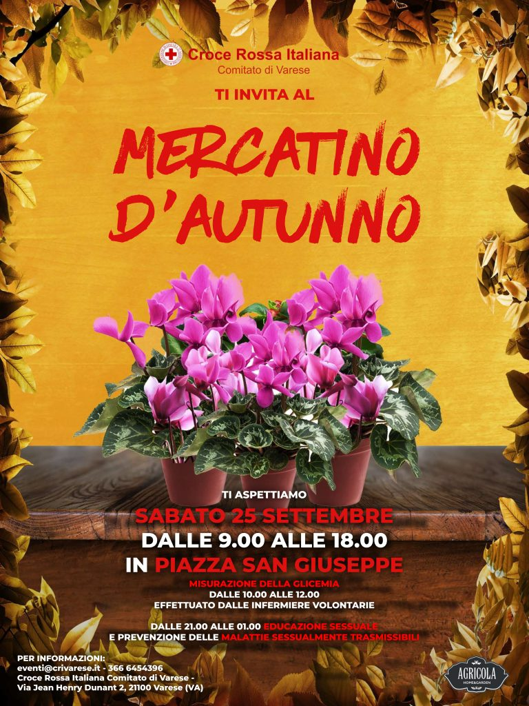 Mercatino d'Autunno @ Piazza San Giuseppe | Varese | Lombardia | Italia