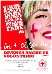 Nuovo corso per diventare Volontario della Croce Rossa a Varese